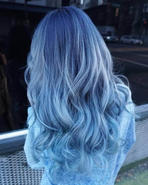Light to Medium Blue Style