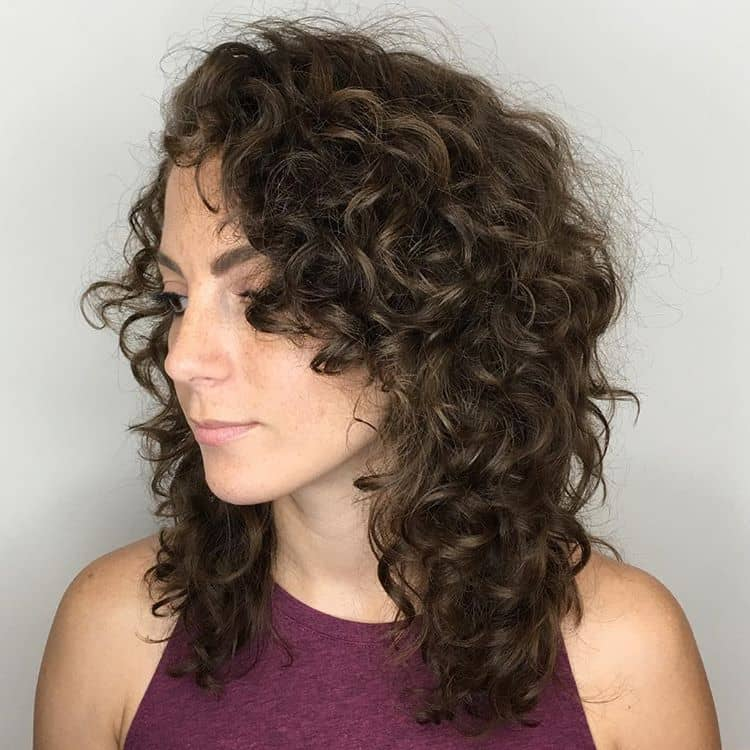 Loosely Curled And Loaded With Layers