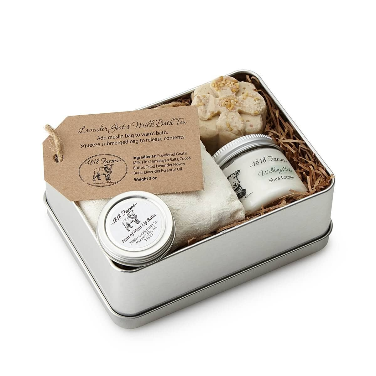 Natural Beauty Spa Experience Tin