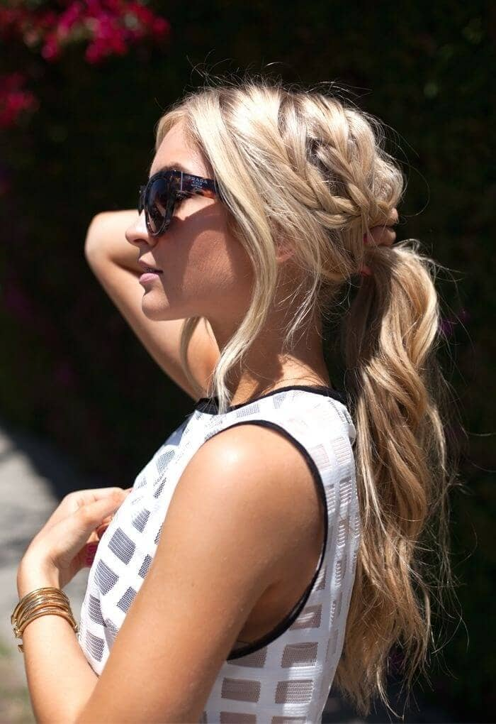 Easy Look for a Sunny Summer Day