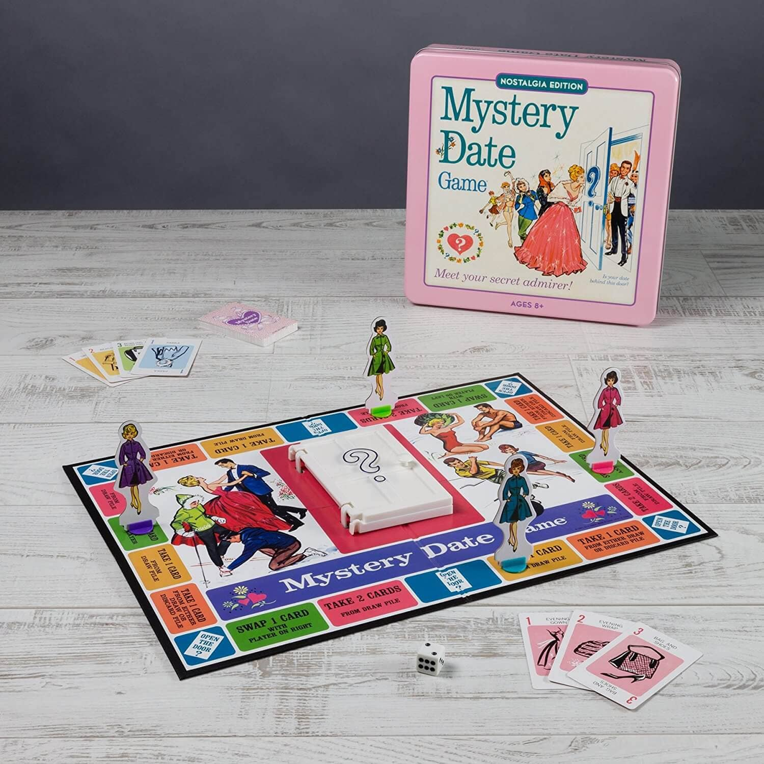 Retro Mystery Date Board Game