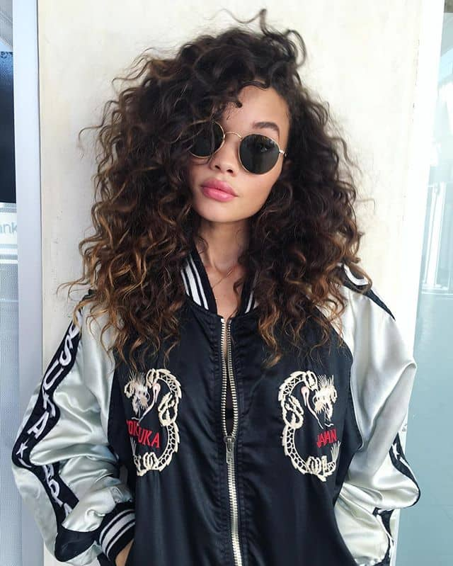 Soft Curls That Are Rough Around The Edges