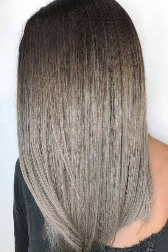 Long Layered Ashy Dark Blonde Hair