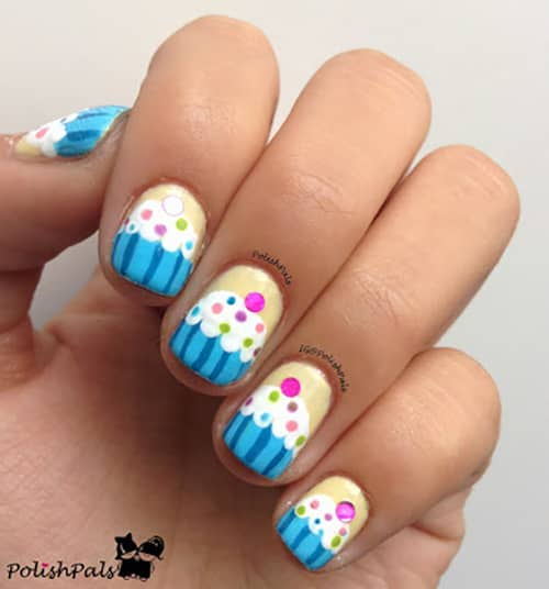 More Delicious Cupcake Nails for You