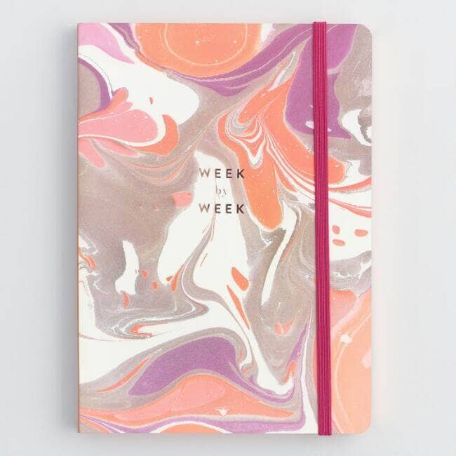 Marbled Weekly Planner for Mom