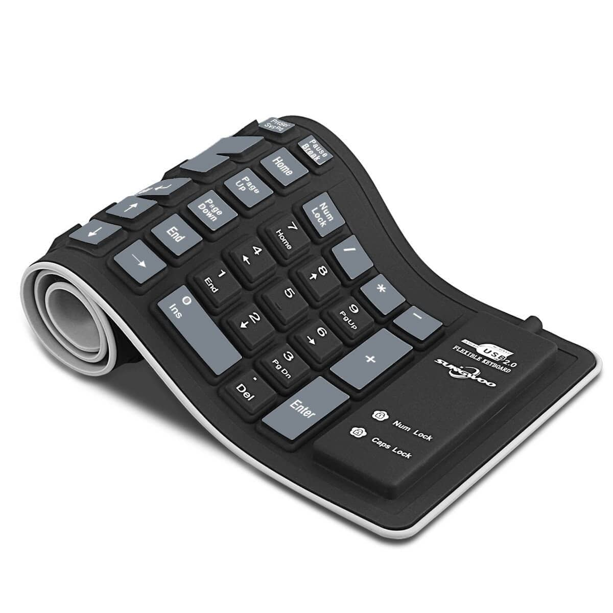 Flexible Keyboard for a Flexible Life