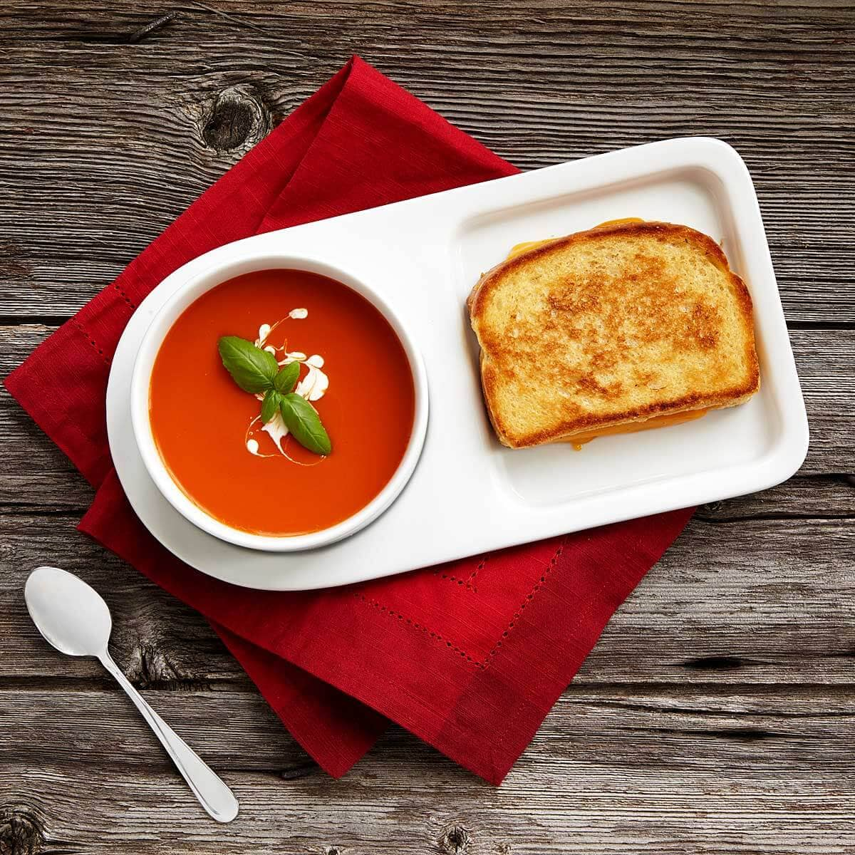 Soup and Sandwich Bowl and Tray Set