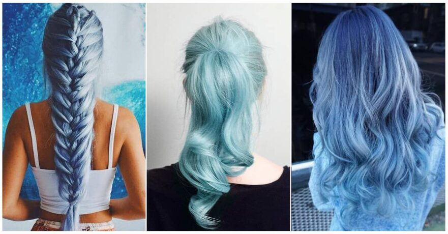 50 Blue Hair Styles You Have to See to Believe