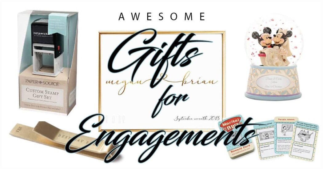 50 Awesomely Creative Engagement Gifts