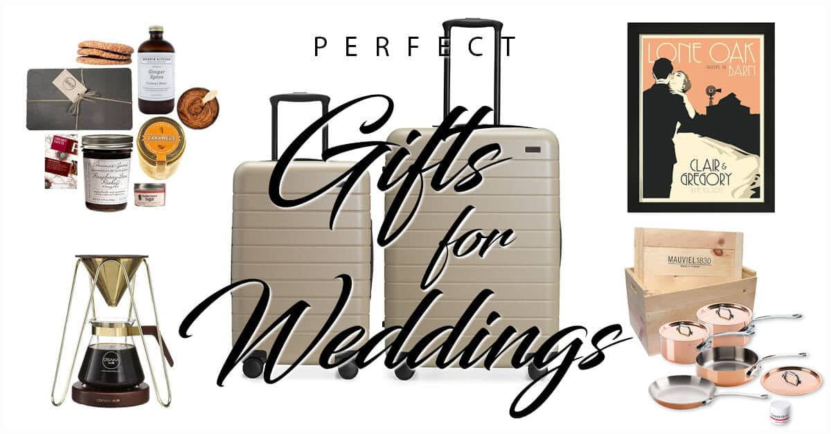 50 Perfect Wedding Gift Ideas To Make The Couple Extremely Happy In 2020