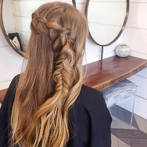 Multiple Braiding Techniques and Placed Off Center