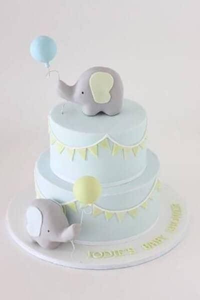 Elephants Celebrating Baby's Arrival