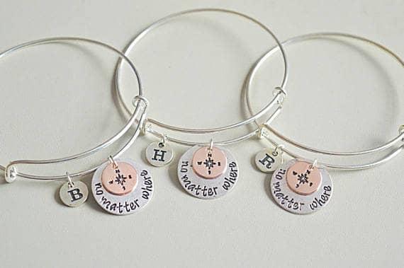 Amazing Long Distance Five Set Bracelets