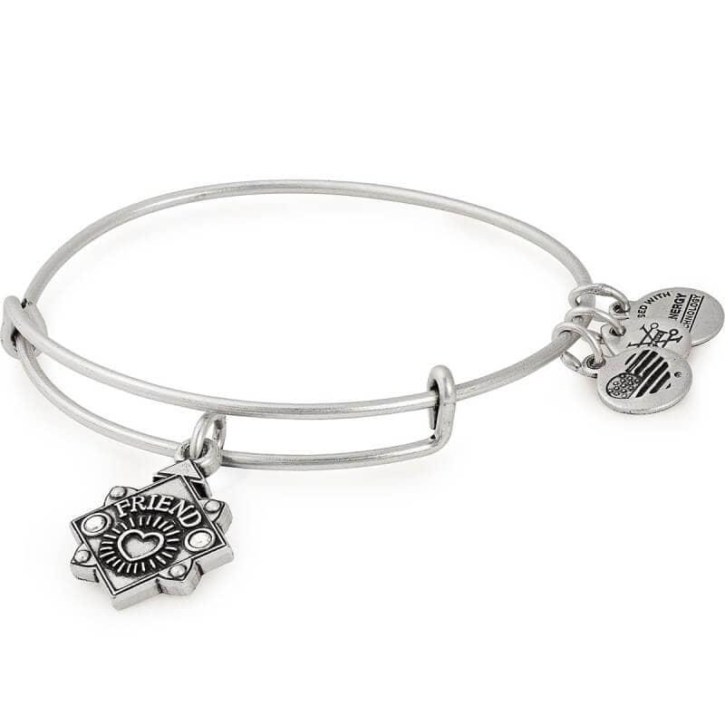 Alex and Ani Friend Charm Bangle Bracelet