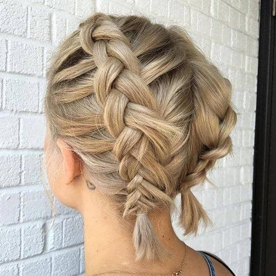 Proving that Short Hair Can Be Braided!