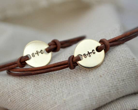 Adorable Well-Made Initial Engraved Bracelets