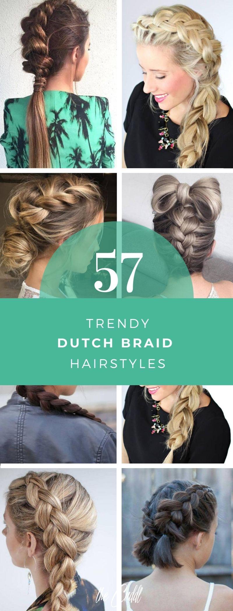 50 Pretty Styles that Feature Dutch Braids