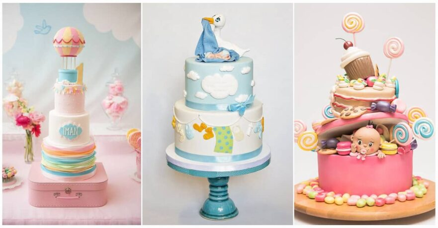 50 Amazing Baby Shower Cakes that Will Inspire You