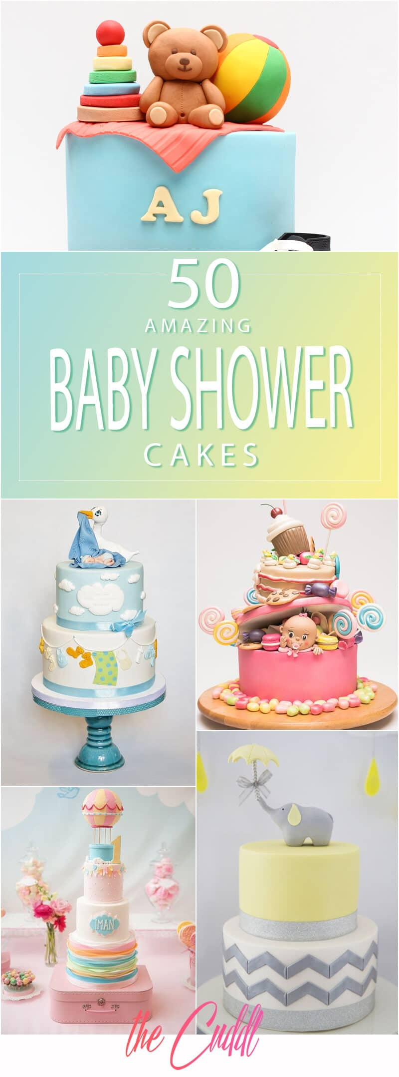 50 Amazing Baby Shower Cake Ideas That Will Inspire You In 2020