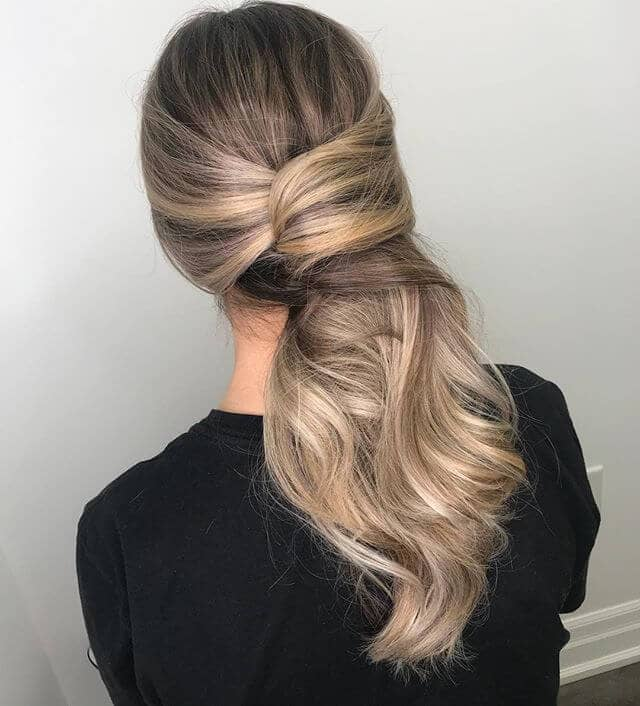 Honey Blonde Long Hair Twist