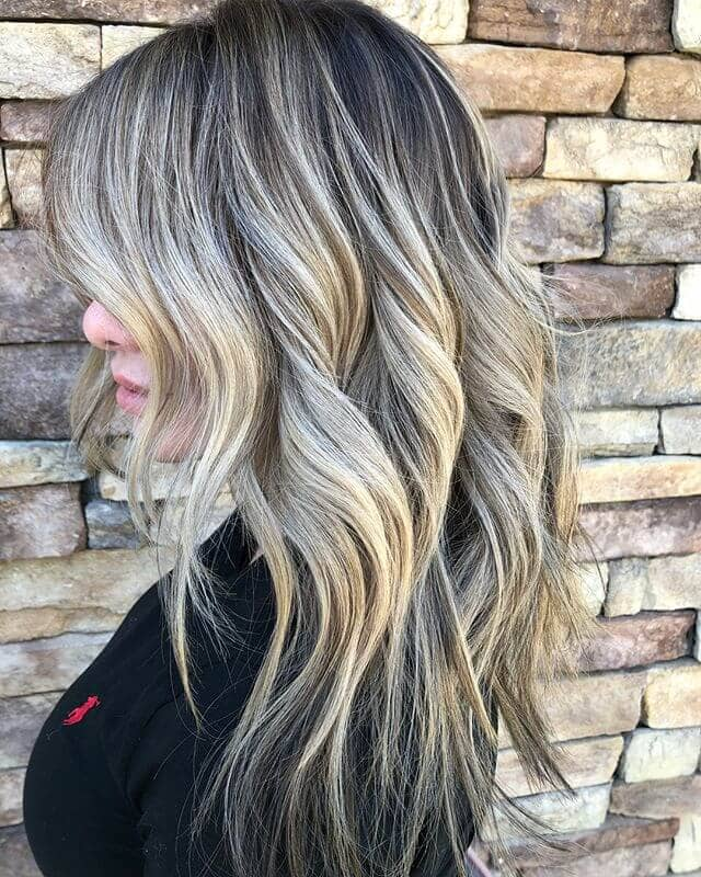 Textured Layers With Pointed Waves
