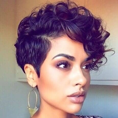 Dramatically Soft Curls With Bold Purple Tint