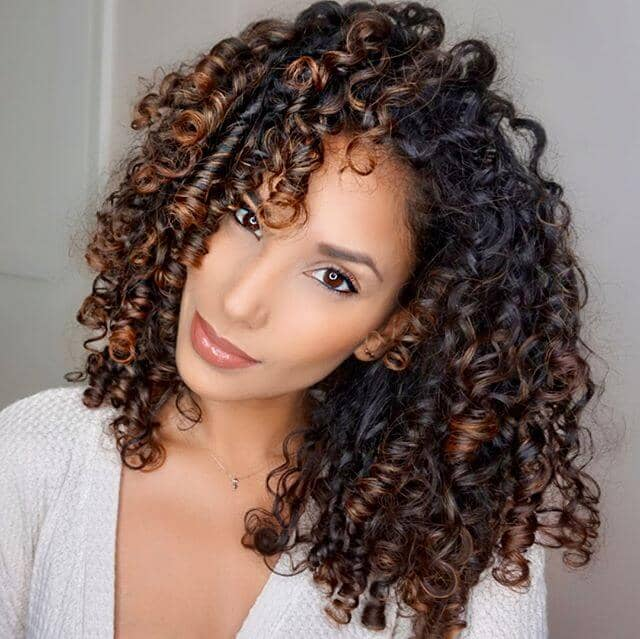 Gorgeous Voluminous Tightly Coiled Curls