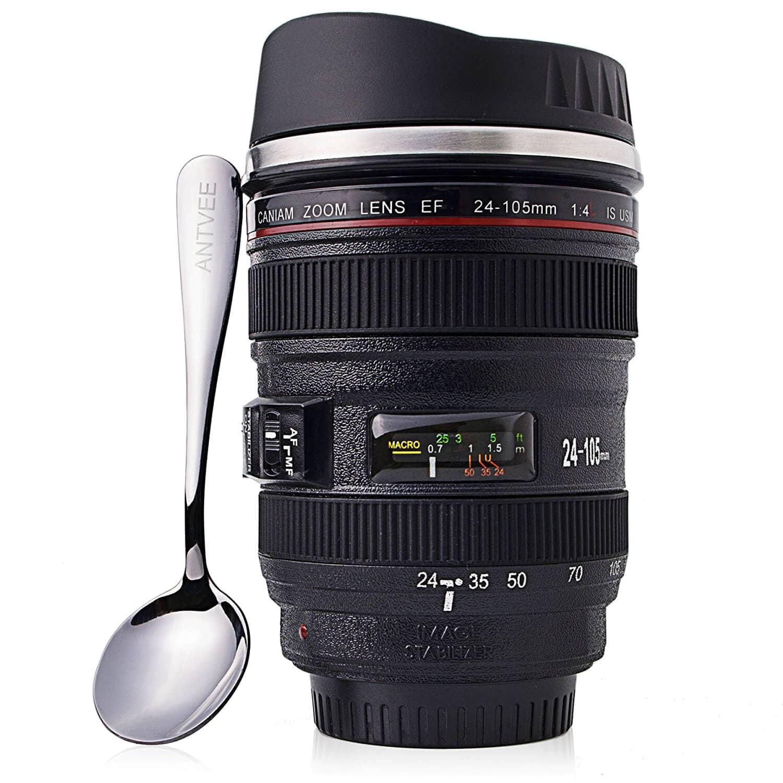 Photographer Lens Thermal Mug
