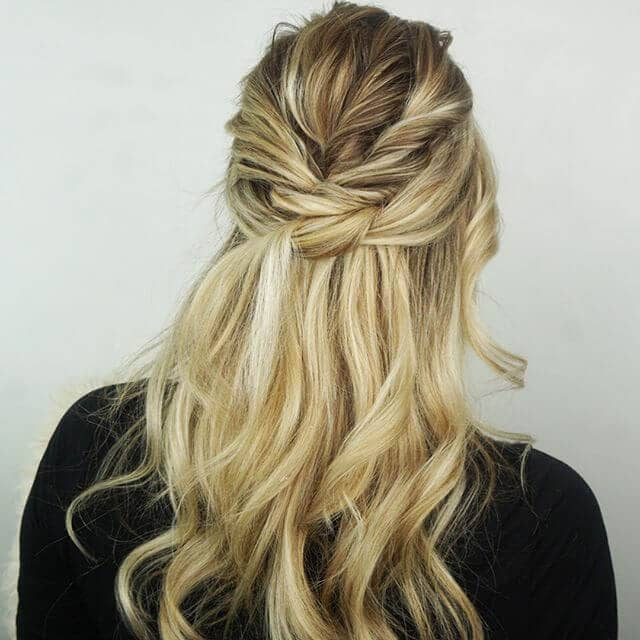 Deconstructed Fishtail With Loose Waves