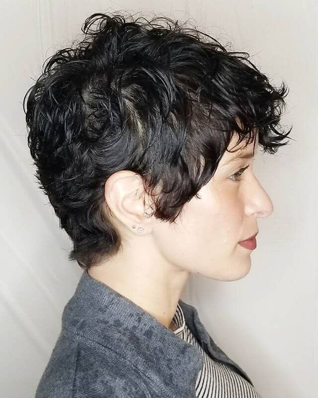 Thick Pixie With Full Side Pieces