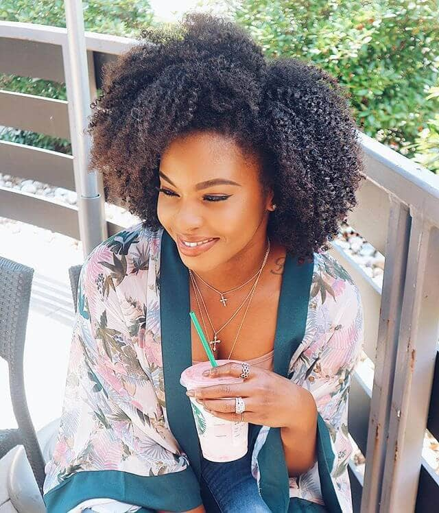 Cute Short Crochet Hairstyle with Dyed Ends