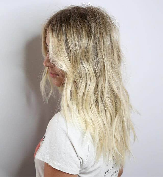 Super Cute Beach Blonde Beach Bum Waves