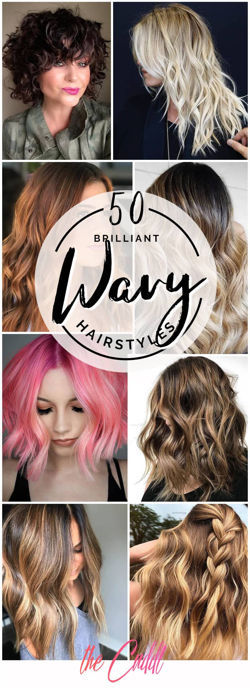 50 Beautiful Wavy Hairstyles to Rock Wavy Hair Like a Boss