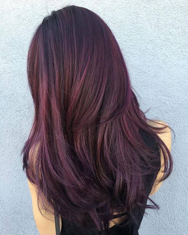 Burgundy Hair: Get swept off Your Feet