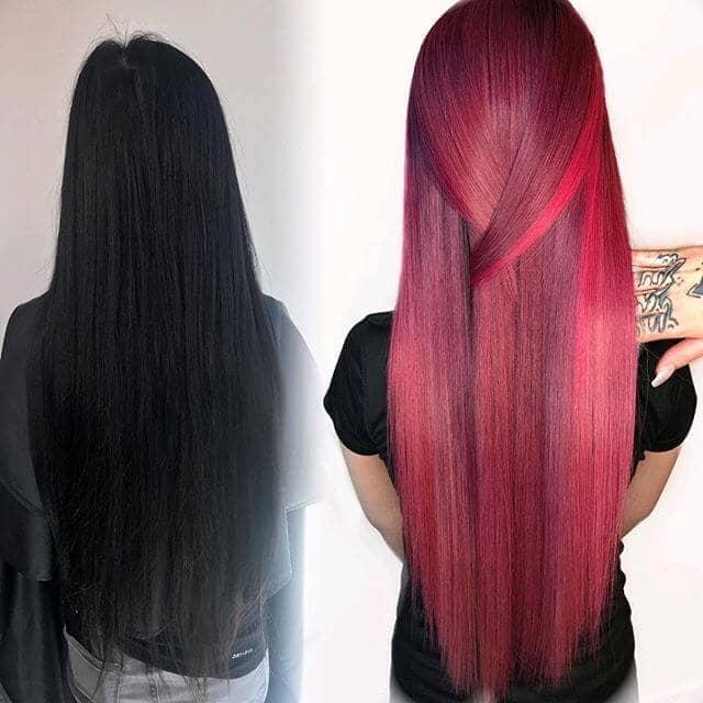 Presto Changeo Burgundy Hair