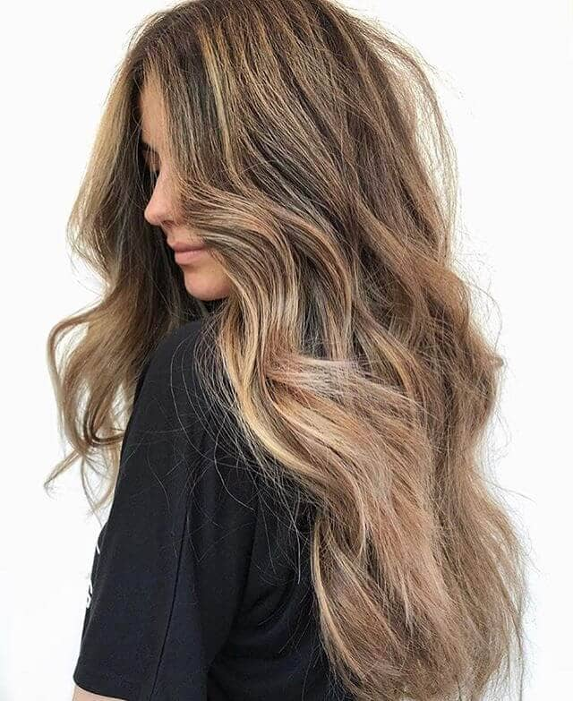 Thick Coarse Layered Hair with a Soft Look