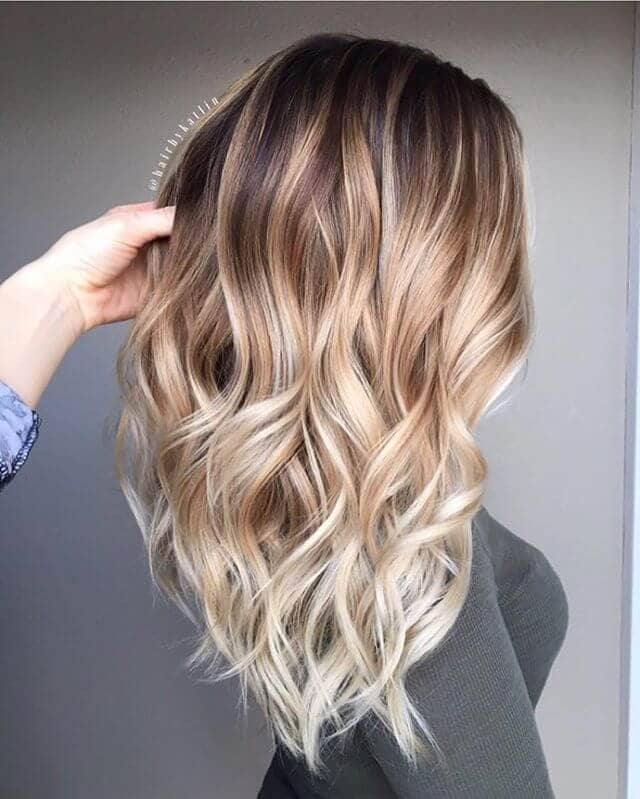 Cool Colored Bright Feathery Blonde Layers