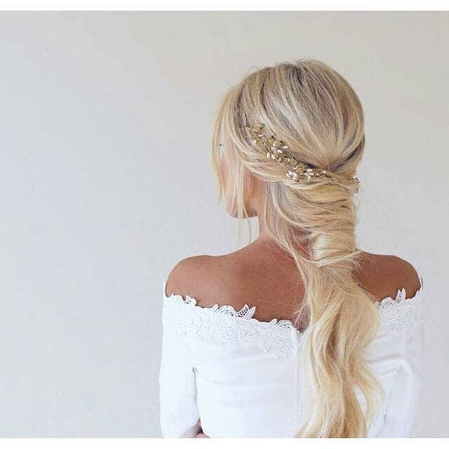 Beautiful Mini Twists Into Long Loose Ponytail