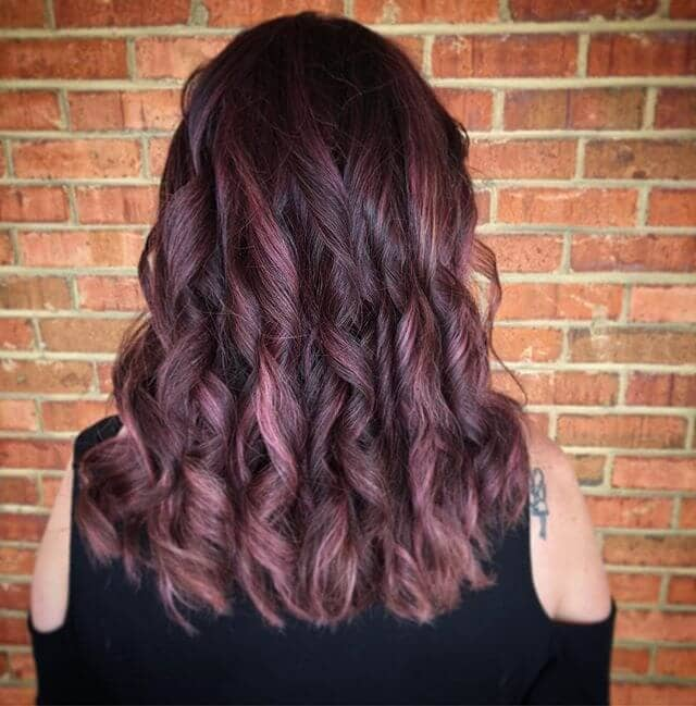 Putting a Spin on Burgundy Hair