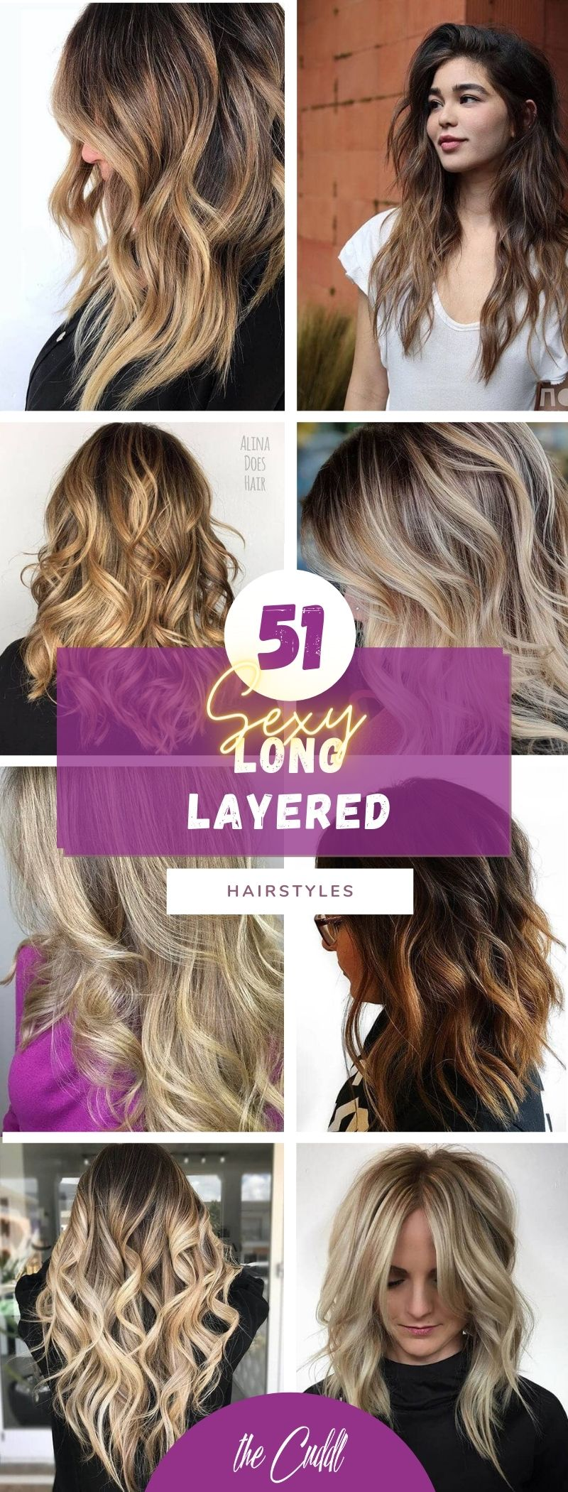 50 Flirty Long Layered Hair Ideas That Provides Endless Styling Options
