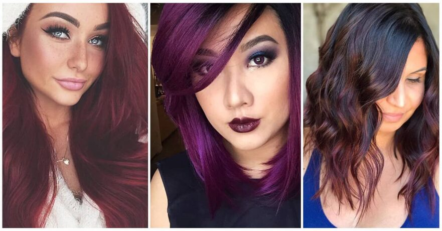 50 Hot Shades of Burgundy Hair to Rock this Fall