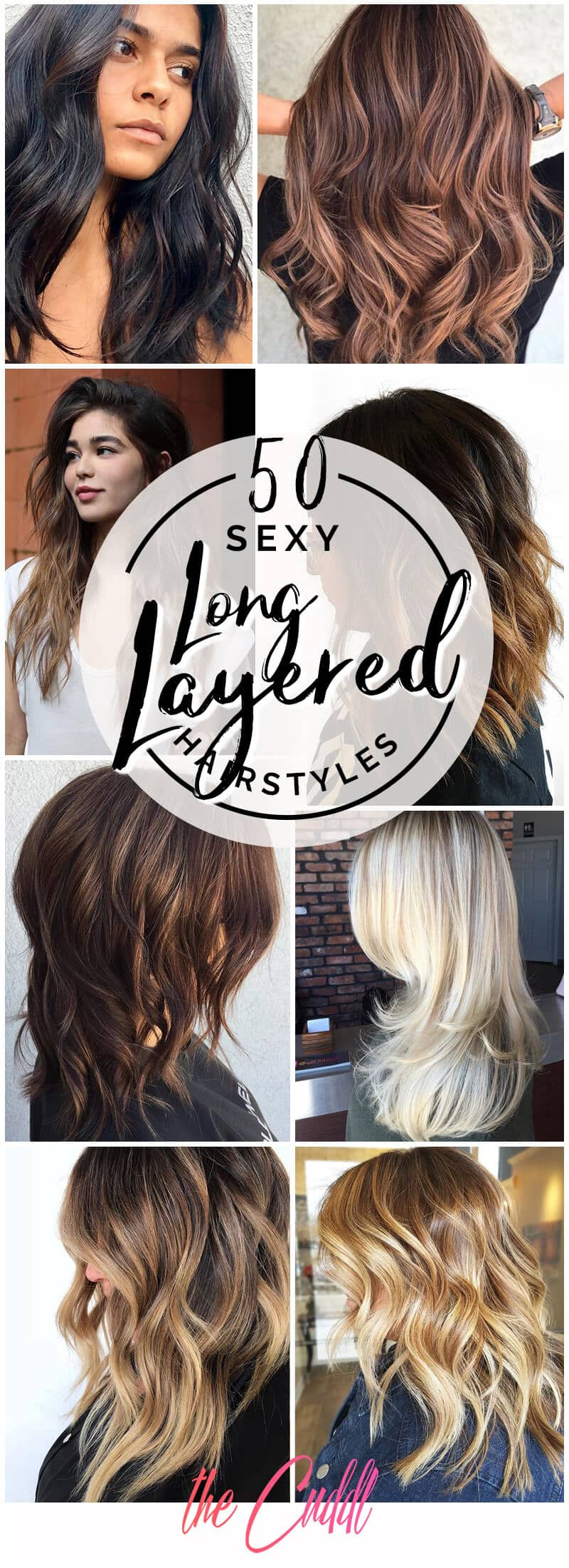 10 Sexy Long Layered Hair Ideas to Create Effortless Style in 10