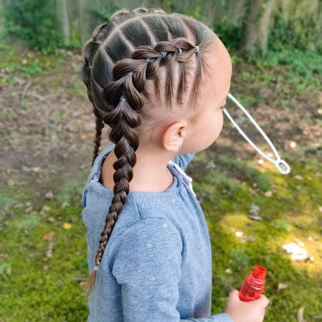 8+ Pretty Perfect Cute Hairstyles for Little Girls to Show Off