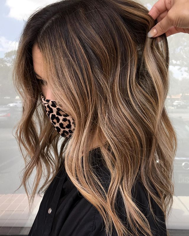 Blonde And Brown Ombre Hair