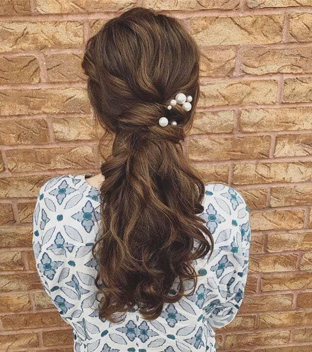 Natural Curls Twist Ponytail Hairstyles