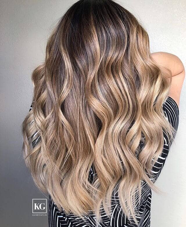 All Curled Up With Golden Highlights