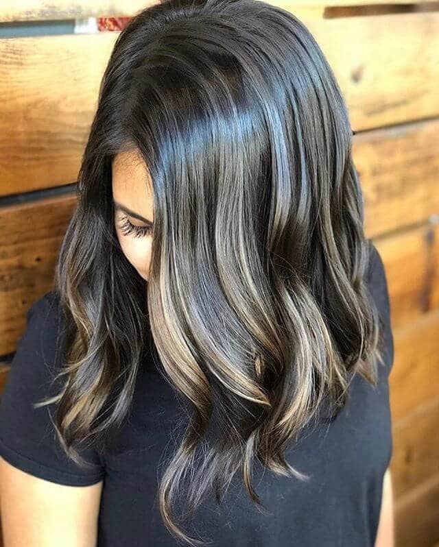 Awesome High-Contrast Highlighted Bob