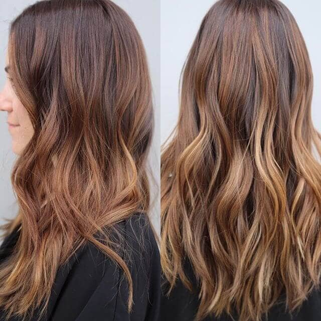Ultra Long Waves with Caramel Highlights