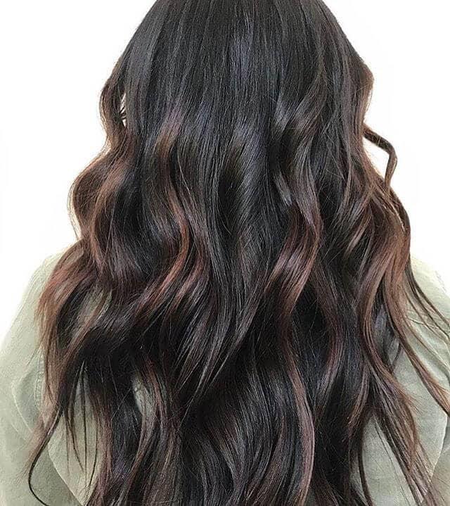 Beautiful Brunette Fall Hair Idea