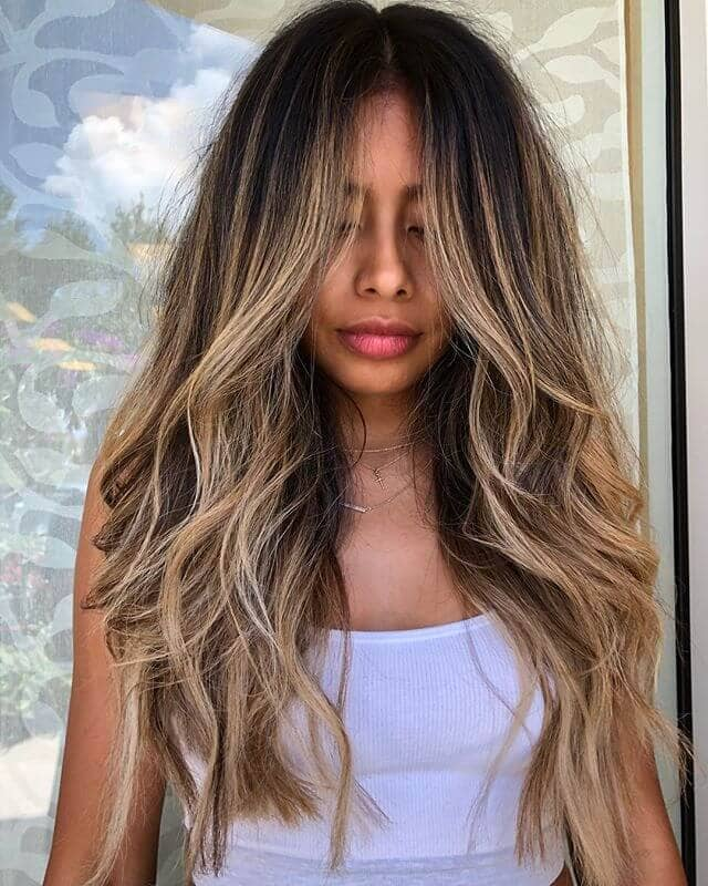 Long and Lustrous Free Spirit Style